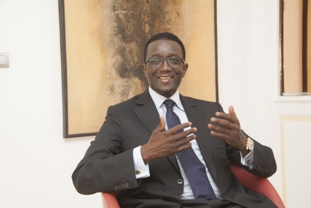 Amadou BA, ministre de l'économie des finances et du plan