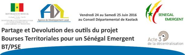 Bourses territoriales pour un Sénégal Emergent : Après Kaolack, l'ADL lance le projet à Foundiougne
