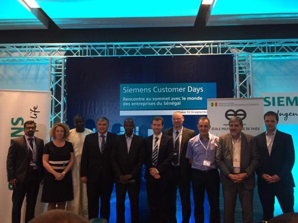 Siemens signe un contrat de partenariat avec l'EPT et présente ses solutions technologiques industrielles aux entreprises sénégalaises