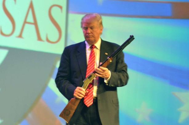 Trump sur le sentier de la guerre