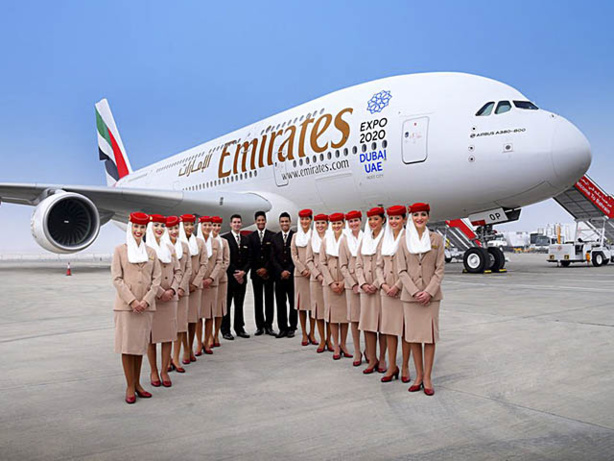 Transport aérien : Emirates dit bonjour 2018 avec des tarifs spéciaux