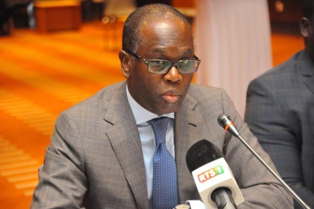 Birima Mangra, ministre délégué auprès du ministre de l'économie, des finances et du plan chargé du budget