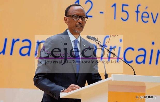 Paul Kagamé, à la cérémonie d'ouverture de 42 AG de la FANAF