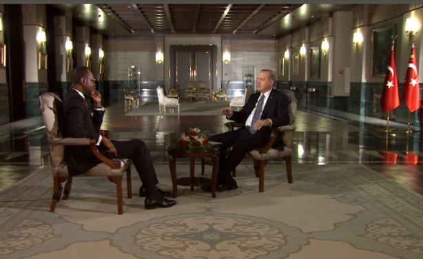 Recep Tayyip Erdogan - «Mon attente sur l'Afrique c'est de la voir garder son unité »