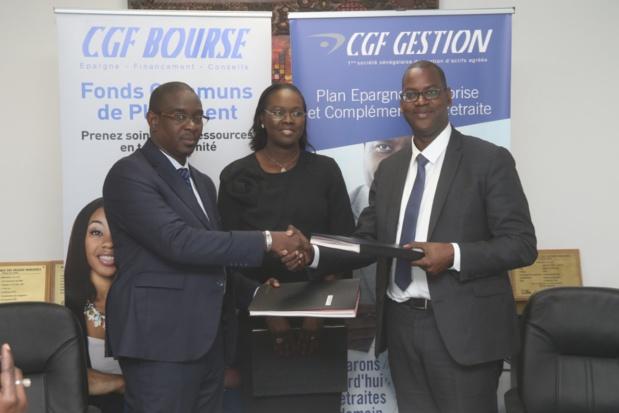 Epargne collective et individuelle dans les PME/PMI : CDES, CGF Gestion et CGF Bourse se donnent la main