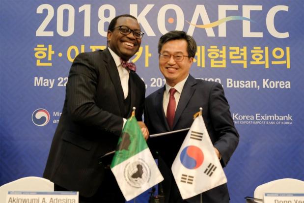 53eme Assemblées annuelles : Une aide bilatérale de 5 milliards de dollars de la Corée à l'Afrique