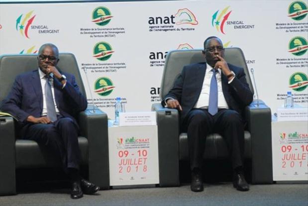 Conférence nationale sur l'aménagement et l'attractivité territoriale : Macky Sall : «Affronter la nécessaire correction territoriale»