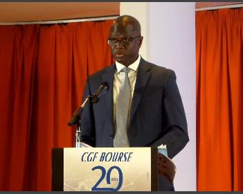 Mamadou Ndiaye,Président du Conseil régional de l'épargne publique et des marchés financiers (Crepmf)