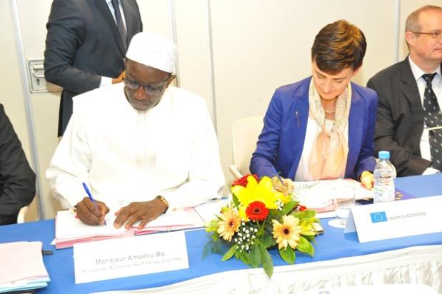 Sénégal -Union européenne : Un  nouveau document de stratégie conjointe signé