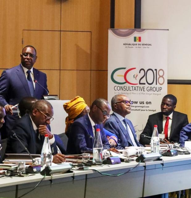 Groupe consultatif de Paris : Le Sénégal obtient 7356 milliards de FCfa