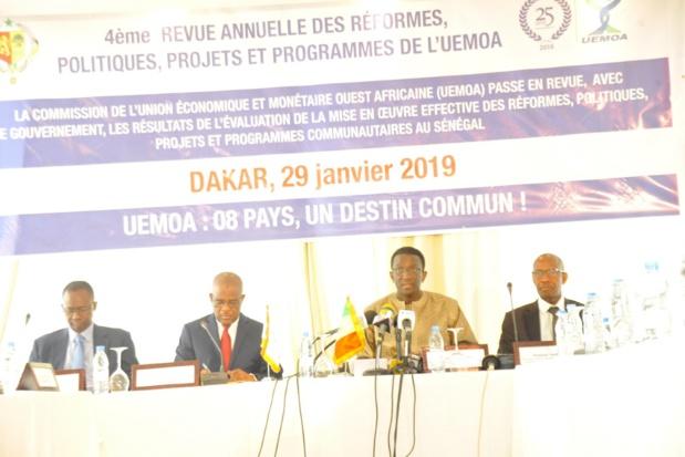 Sénégal : La mise en œuvre des réformes de l'UEMOA atteint 75,5% en 2018