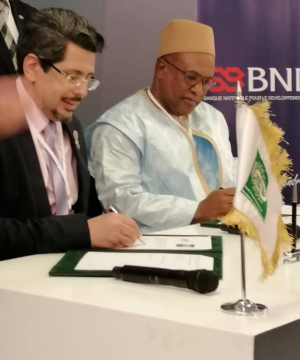 Signature de convention de financement : La Société Islamique pour le Développement du Secteur Privé alloue 8 millions d'euros à la Banque Nationale pour le Développement Economique