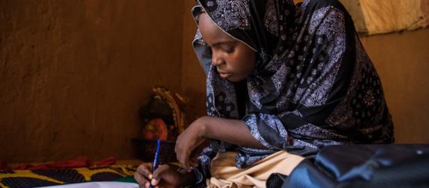 Innayatou Souradji, 15 ans, au Niger. Photo: © Banque mondiale