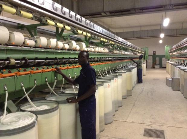 Sénégal : Progression du secteur secondaire en septembre 2019