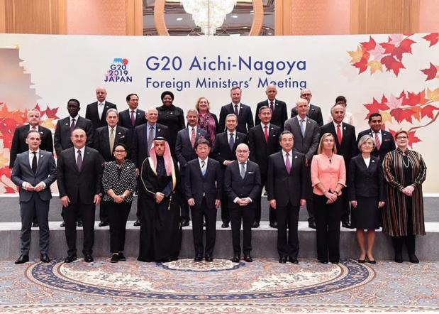 Réunion des ministres des Affaires étrangères du G20 : Amadou Ba décline  la vision du président Macky Sall pour le développement de l'Afrique