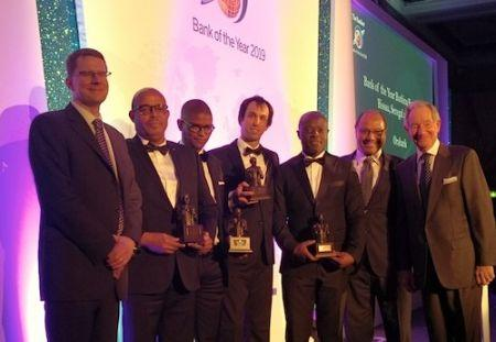 Le groupe bancaire panafricain, Oragroup remporte le prix Banker Awards - Bank of the year 2019