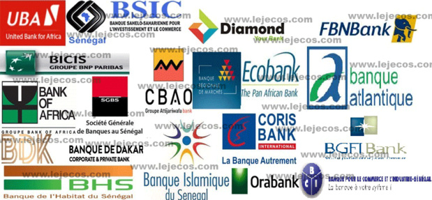 Les banques sénégalaises réalisent un total bilan provisoire de 7675,5 milliards de FCFA à fin décembre 2019