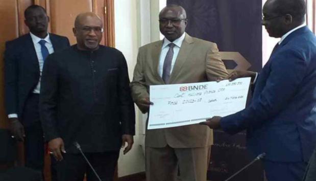 Riposte au Covid-19 :  La Bnde met à la disposition du ministère de la Santé un montant de 100 millions de FCFA