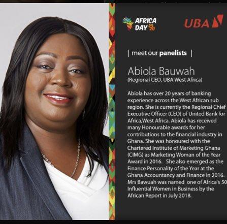 Abiola Bawuah, directrice régionale de Uba West Africa  : « Il est temps que l'Afrique prenne son destin en main »