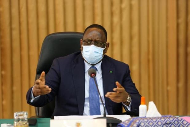 Covid-19: Le président sénégalais Macky Sall placé en quarantaine pour une durée de 15 jours