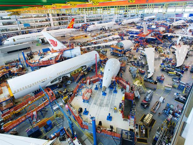 Airbus et Boeing ont plus de 600 avions en attente de livraison