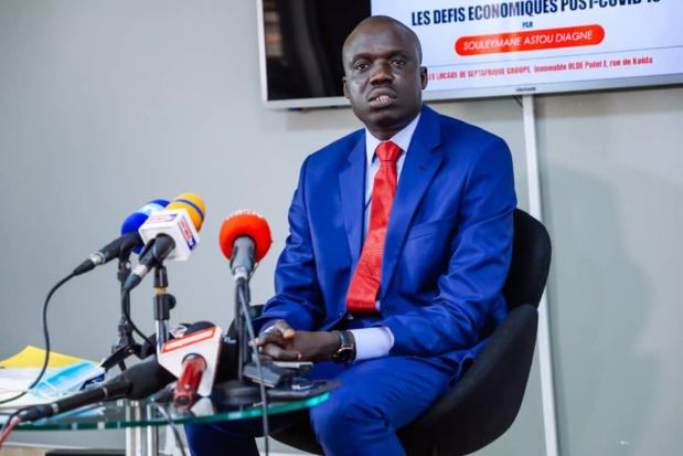Professeur Souleymane Astou Diagne : « Il est crucial de réussir le virage post-covid-19 en insistant sur les bases d'une économie locale, mettant en avant nos Pme et la création d'emplois locaux. »