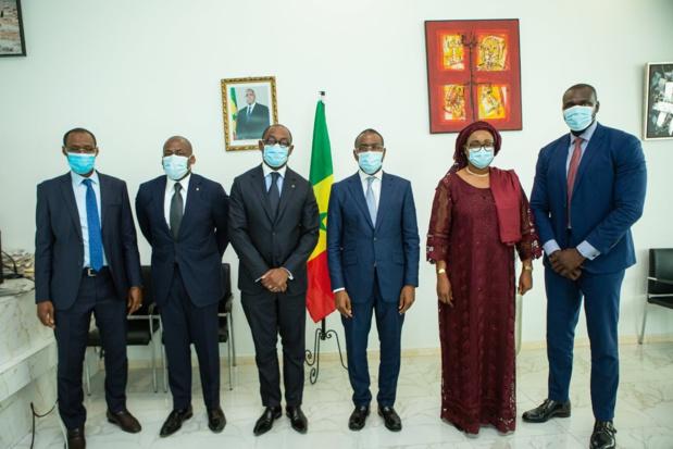 Nouveau président de la Boad : Serge Ekue reçu par Macky Sall et le ministre Amadou Hott