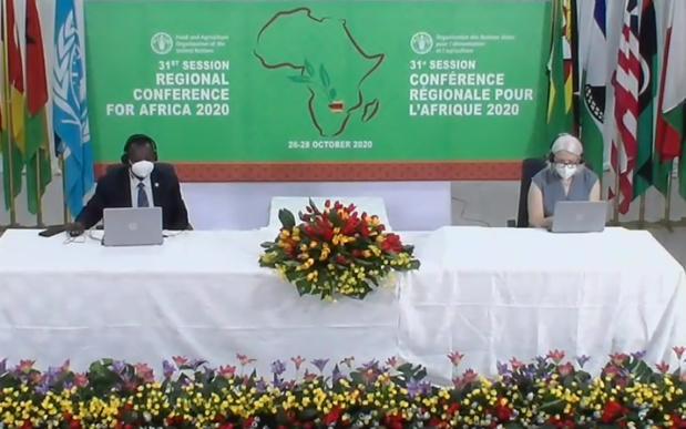 Crise de la faim : Des pays africains participent à la conférence de la Fao