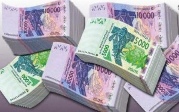 Sénégal : La masse monétaire a progressé de 74,3 milliards CFA en juillet 2020
