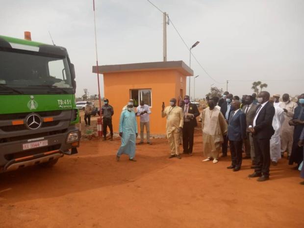Un parking gros-porteurs inauguré au port sec de Sandiara pour décongestionner Dakar
