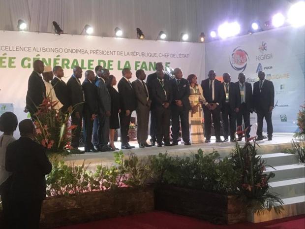 Image d'archive de la 44eme Ag de la Fanaf tenue à Libreville