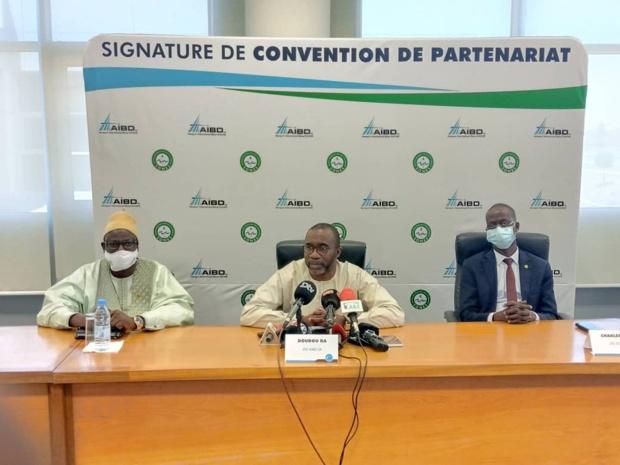 Adduction d'eau potable : l'AIBD et la SONES signent une convention d'autorisation d'occupation