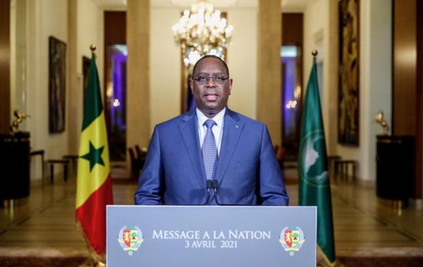 Sénégal : MESSAGE A LA NATION DE MACKY SALL A L'OCCASION DE LA CELEBRATION D... </div> <br style=