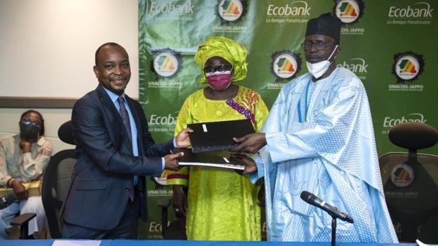 Financement de la relance du secteur du commerce : Ecobank Sénégal et Unacois Jappo signent une convention de 15 milliards  de FCFA