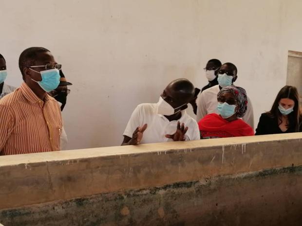 Mise en œuvre du projet Microsol-Uemoa au Sénégal : Le commissaire Jonas Gbian visite le site de Diama Maraye à Saint-Louis