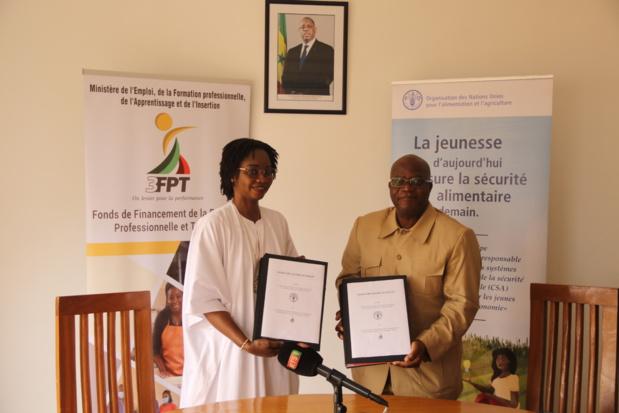 Insertion des jeunes agripreneurs : La Fao et le 3Fpt nouent un partenariat