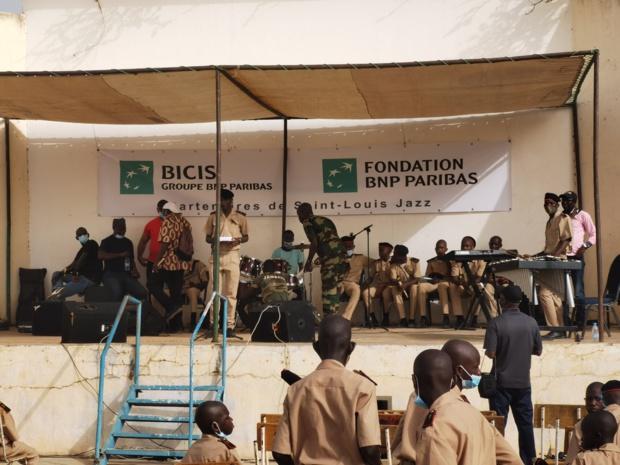 Festival international de Saint-Louis : La Bicis « jazz » avec le prytanée militaire