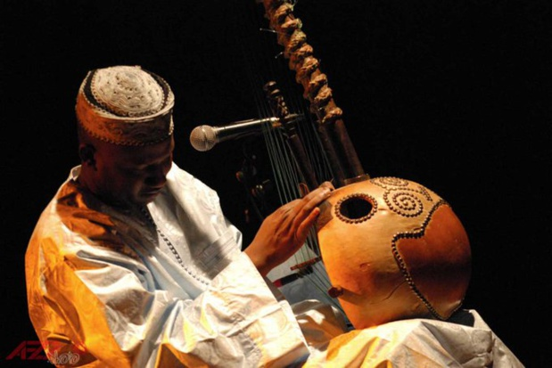 Ablaye Cissoko, le célèbre auteur-compositeur et musicien sénégalais,