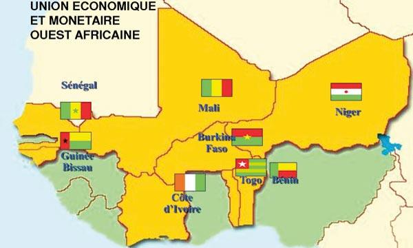 Zone Uemoa: 5,7% de croissance et une réduction du déficit budgétaire prévus cette année
