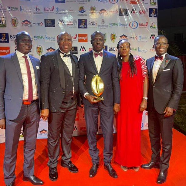 16eme édition des Cauris d'Or du Mouvement des entreprises du Sénégal : Uba Sénégal s'empare du « Cauri d'Or - Cauri de la Transformation Digitale »