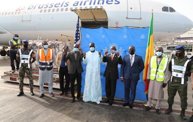 Troisième vague de Covid-19 :  Les États-Unis offrent 151 mille 200 doses au Sénégal