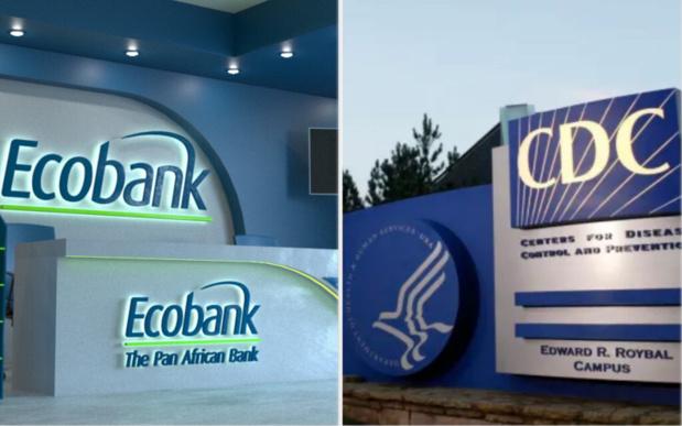 Riposte à la Covid-19 : Ecobank reçoit une facilité de financement de 50 millions de dollars de Cdc