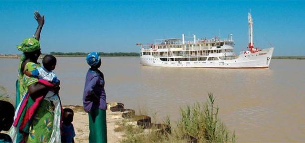 Navigation sur le fleuve sénégal