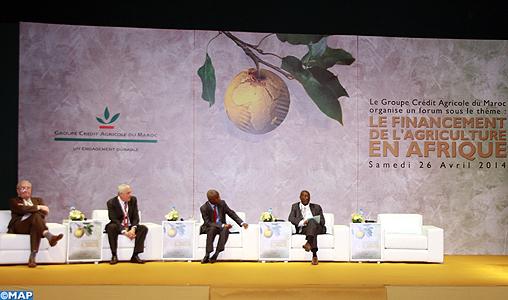 Forum sur le financement de l'agriculture en Afrique, tenu le 26 avril dernier à Meknès