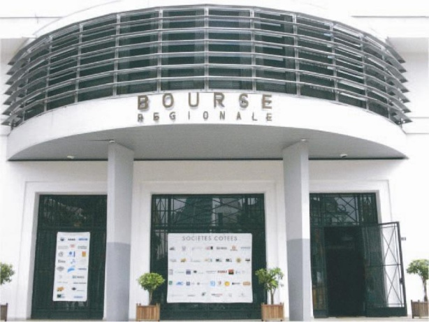 Bourse : La BRVM clôture en légére  baisse mercredi