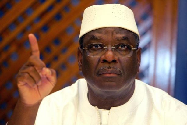 Ibrahim  Boubacar Keita, président de la République du Mali