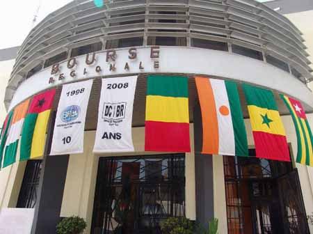 BRVM : ETI et BOA Burkina Faso sont les titres plus actifs
