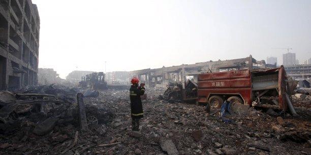 Tianjin : la catastrophe industrielle coûterait 1,5 milliard de dollars