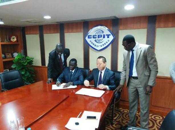 Coop ration serigne mboup signe un accord avec la for Chambre de commerce de dakar formation