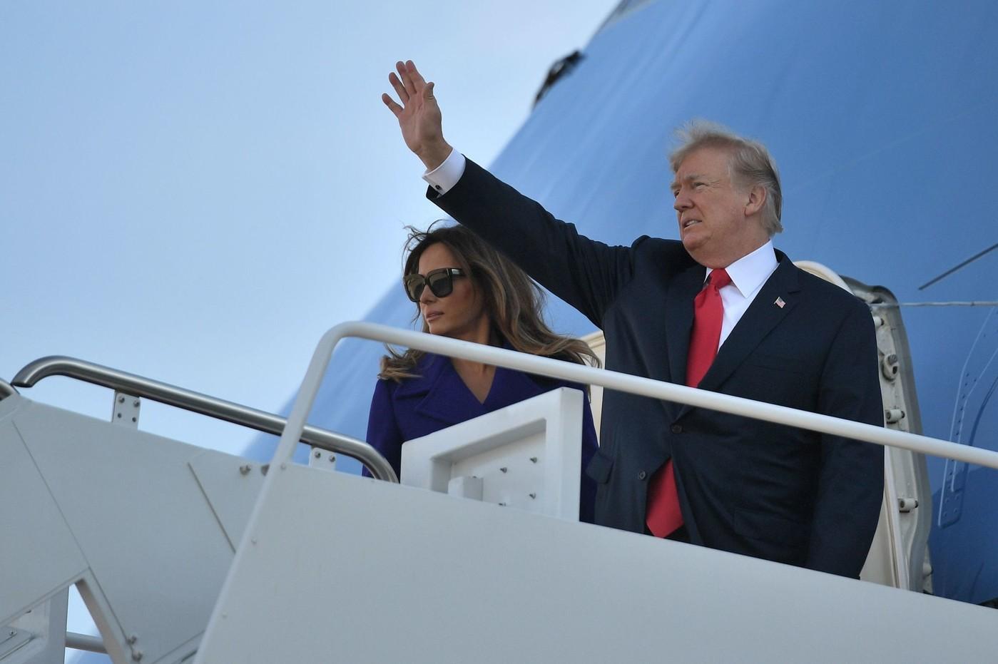 Trump en visite en Chine